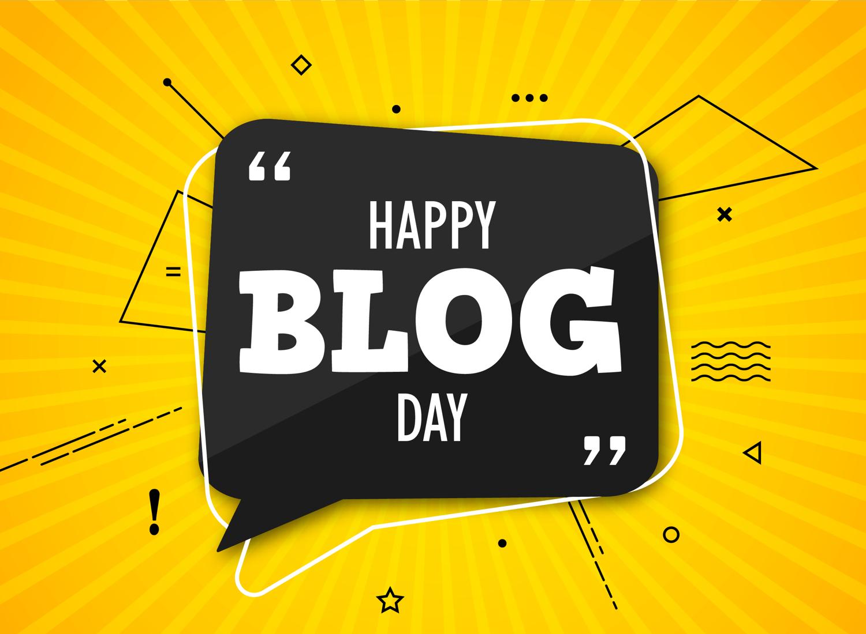 happy blog day