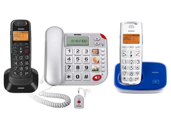Quale telefono per anziani Brondi scegliere da usare in casa?