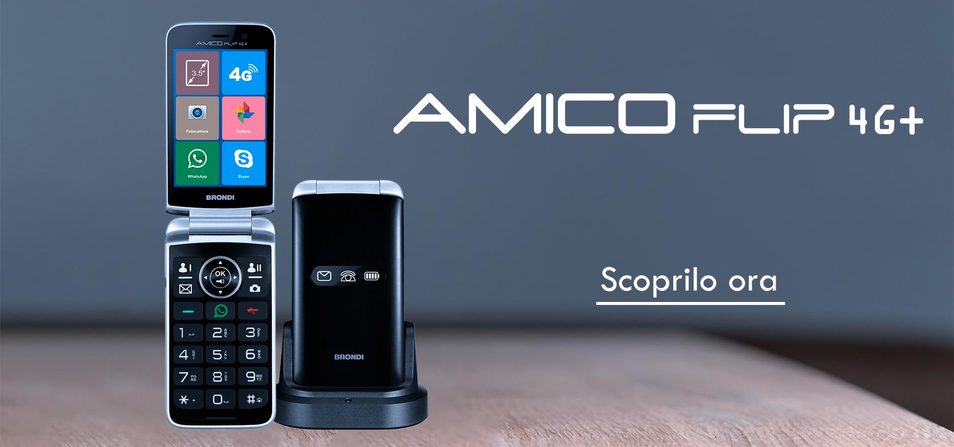Amico Flip 4g+