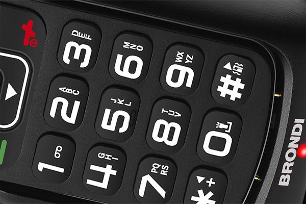 brondi telefono tasti grandi